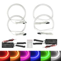Wholesale Ccfl Halo Lights - FEELDO Car CCFL Angel Eyes Light Halo Rings Kits For BMW Z3 series 98-02 M Coupe Roadster DRL #4509