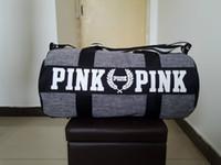 Wholesale Animal Print Duffel Bag - Handbags Bags for Women Men Pink Duffel Bag Vs Ladies Women Men Secret Travel Bag Waterproof Victoria 5 Design Famous Brand Beach Bags
