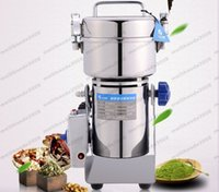 Wholesale Chinese Swing - NEW Stainless steel swing pulverizer chinese medicine grinder powder machine to play high speed pulverizer gristmill 2000g MYY