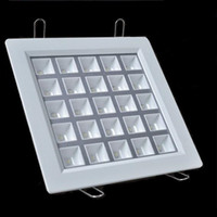 Wholesale Remote Control W - Dimmable 4w 9w 16w 25w Cree recessed led ceiling down lights square downlights LED retrofit lighting grille lamps 100LM W CE SAA UL