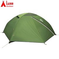 Wholesale Outdoor Aluminium Lights - Hong Kong LUXE spiders 2xl double tents by aluminium alloy rod outdoor super light camping tent
