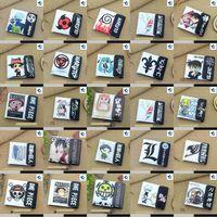 Wholesale Watermelon Art - Anime Attack On Titan, Sword Art Online, Conan, Gintama, Bleach,Hitman Reborn etc High Quality PU Short Folding Wallets Purses with Button