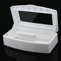 Wholesale Salon Manicure Tool Box - Wholesale- Hot Best Deal Sterilizer Tray Box Sterilizing Clean Nail Art Salon Manicure Implement Tool DX28