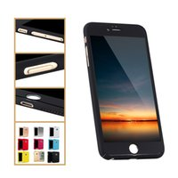 Wholesale Iphone Battery Case Pcs - 360 Degree Case Full Coverage Armor Cases Protective Cover Skin Hard PC for iPhone 6 6s 7 plus