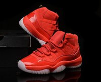 Wholesale Canvas Shoes For Low Price - Cheap New All Red Retro 11 basketball shoes Retro XI running shoes for men Athletic Sport Shoes Lowest Price Us8~13