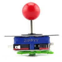 Wholesale Jamma Games - 2CS*Zippy Arcade Short Joystick Classic Competition Style 2 4 8 Way for arcade game JAMMA 60 in 1 pcb Stick Mame Jamma