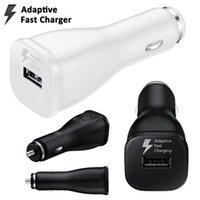 apfel ladegerät farbe großhandel-15W 9V 1.67A 5V 2A Weiß Schwarz Farbe Einzelner USB-Port Dualer USB-Port Adaptiver Schnellladegerät-Autoladeadapter für Samsung s6 s7 Rand Anmerkung 4 5