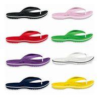 pembe reçine toptan satış-Toptan-Erkekler Kadınlar reçine Clog Flip Flop Stil Plaj ayakkabıları Unisex Sandal Kadın Terlik Ayakkabı NWT