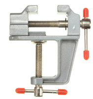 Wholesale Hobby Bench Vise - 2017 New 35mm Aluminum MiniAture Small Jewelers Hobby Clamp On Table Bench Vise Tool Vice Bench Vise Hand Tools