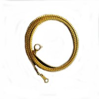 Wholesale Wholesale Bare Copper - high quality 18K gold-plated necklace copper simple bare necklace Free Shipping