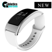 Wholesale fitness motion - Wholesale-Athletics person A06 Smart bracelet blood oxygen smart band with heart rate monitor Motion Tracking wristband for smart phone