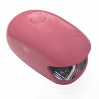 Wholesale 3w Nail Lamp - Wholesale- Mini Portable Nail Dryer LED UV Lamp 3w For Curing Nail Dryer Nail Gel Polish Dryer Curing Lamp