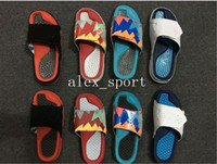 Wholesale Heels Retro White - Fashion Retro 7 slippers sandals Hydro IV Retro 7s Slides black Free shipping men basketball shoes casual shoes outdoor sneakers size 5.5-11