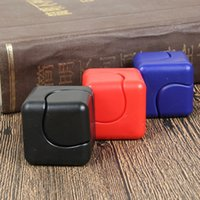 Wholesale Cheap Plastic Cubes - Cheap Fidget Cube ABS Spinner Fidget Square Finger Cube Decompression Anxiety Toys Beyblade Anti Stress SpinCube 3 Colors LC609