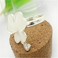 Wholesale Trend Fashion China Wholesale - Rings Crystal Butterfly Rings Designs China Jewelry Fashion Jewelry Wholesale Personality Cheap Trend Women Rings China