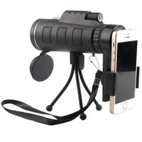 Wholesale hunt cameras - Day Night Vision 40x60 HD Optical Monocular Hunting Camping Hiking Astronomical Telescope Magnifier 40X Zoom Camera Lens
