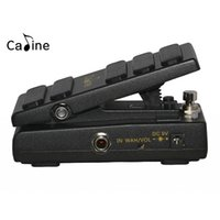 Caline CP-31 Wah Wah Electric Guitar Pedal Switchable Between Wah Mode and VOL Mode DC9V Input