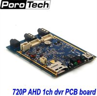 Wholesale Xbox Dvr Recorder - Wholesale- 1CH Mini AHD XBOX DVR PCB Board 30fps Security Digital Video Recorder Support 128GB SD Card 1pcs free shipping
