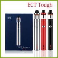 E Cigarrillos Electrónicos Ligeros Baratos-ECT Tough 2200mah kit de arranque de cigarrillo electrónico 10W-30W-50W con 2.0ml Lit mini vaporizador 0.3ohm e cigarrillo vapor pluma