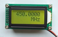 Wholesale frequency tester - Wholesale-1 MHz to 1.1 GHz Frequency Counter Tester Measurement For Ham Radio DC 9V ~ 12V