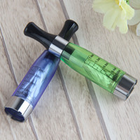 Wholesale ce5 vs ego t resale online - 1 ml CE4 Vape Pen Vaporizer Clearomizer Electonic Cigarette Atomizer Fit eGo T Evod Pass Through Battery VS CE5 CE6 MT3 Tank