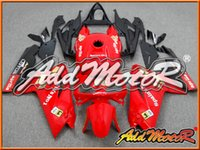 Wholesale Rs 125 - Addmotor Injection Mold Fairing For Aprilia RS125 RS 125 2007 2008 2009 2010 2011 07 08 09 10 11 Red Gold Black Spain's No.1 A1201