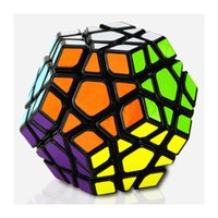 Wholesale Megaminx Cube - 12 side Magic Cube Speed Puzzle Cubes Kids Toys Educational Toy Megaminx Magic Cubes Pentagon 12 Sides Gigaminx PVC Sticker Dodecahedron Toy