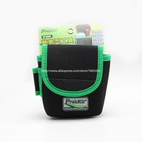 small tool kit оптовых-Wholesale- ST-5204 Workers Storage Pockets Easy to Carry without Belt Small Size Tool Pouch Genuine Kit Bag