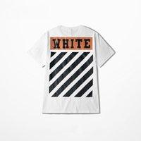 Wholesale Men S Skull Tie - OFF WHITE T-Shirt Men Tie-dye Off White 13 C O Virgil Aboloh Kanye West Swag Kpop Hip Hop Streetwear Skull Beg T Shirts