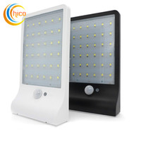 Wholesale Super Bright outdoor wall lights led light with sensor Outdoor Street Security Road Light Wall Garden Thin Solar Lamp Light