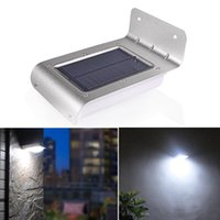 Street outdoor lighting with pir sensor - LED Solar Light Outdoor Solar LED Lamp Waterproof IP65 Garden Light Energy Saving Wall Lights With PIR Motion Sensor Lighting