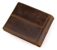 Wholesale Moq Piece - Wallet for Man Christmas Gift Genuine Leather Man Wallet With Coin Pocket zipper MOQ 1 Piece Dropshipping gift for boyfriend and Dad