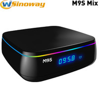Wholesale Wifi Online - Original M9S Mix Amlogic S912 Android 6.0 TV Box 2GB 16GB KD 17.1 Android Krypton Customized support 3D Free Movies Online 5GHz dual wifi