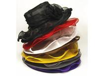organza derby chapéus mulheres venda por atacado-Mulheres Chapéu de Organza Kentucky Derby Festa de Casamento Da Igreja Chapéu Floral chapéu de aba larga verão chapéus para as mulheres 9 cores 12 pcs Frete Grátis