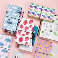 Wholesale Wholesale Printed Notepads - Wholesale- Colorful Cartoon Printed Mini Notebook Cute Soft Copybook Daily Memo Organizer Journal Diary Birth Event Gifts Stationery School