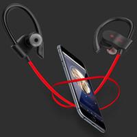crochet de micro achat en gros de-A + Qualité Power 3.0 Casque Sans Fil Crochet D'oreille Bluetooth Sport Écouteur Mic appelant Avec Cas Casque Avec Marque Boîte Au Détail