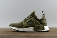 Wholesale Nipple Rubber Bands - New arrival NMD XR1 Duck CAMO BA7232 REAL BOOST Bottom With Nipples NMD_XR1 Camo NMD BA7232 Mens Shoes Box Receipt Keychain 36-45