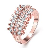 Wholesale Infinity Eternity Ring - 2017 crystal infinity rings best friends rings eternity graduation rings