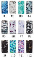 For Apple iPhone TPU Green phone shell marble painted phone shell relief soft shell TPU creative art mobile phone sets
