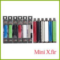 Wholesale E Cigs Variable Voltage - Vision II E Cigs Mini X.Fir 850mah Battery 3.3V-4.8V Variable Voltage Electronic Cigarette For 510 Thread Atomizer E Cigarette