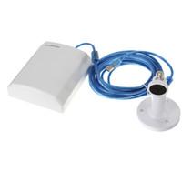 outdoor usb wireless adapter toptan satış-Toptan-Su geçirmez 150M USB Kablosuz Ağ Kartı WiFi Adaptörü Anten + 5M Kablo Uzun Menzilli Açık IEEE Internet 802.11G / B / N