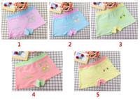 Wholesale Cute Underwear For Baby Girls - Cute kids underwear for Girl boy cartoon elastic baby underwear shorts kids underwear for 3-8 age