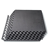 Wholesale Exercise Equipment For Gyms - Interlocking EVA Foam Tiles Puzzle Exercise Mat Protective Flooring for Gym Equipment and Cushion for Workouts