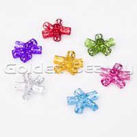Wholesale Wholesale Adjustable Cuff Rings - Wholesale-100 Mixed Color Dreadloc Beads Adjustable Hair Braid Cuff Clip 8mm Hole Hair Ring For Braids