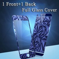 Wholesale 5s full body screen protector online – For iPhone S Plus Screen Protector for iPhone S SE Tempered Glass Film Front and Back Full Coverage Glass Cover