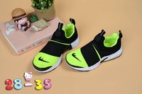 Wholesale Matches Online - Online wholesale comfortable sports running shoes boys and girls knitted presto extre td shoes all-match parent-child Knitting King EUR24-35