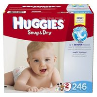 Wholesale Diaper Gauze - 2 Box 492 Count Hies Snug & Dry Baby Diapers Economy Plus Pack ( SIZE 2 )