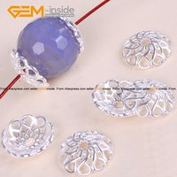 Wholesale Bali Bead Caps Wholesale - Spacer Craft Bead Caps Bright Tibetan Silver Bali Style Jewelry Findings 15mm Wholesale 20 Pcs Bag GSP0032 Free Shipping