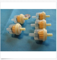 Vente en gros White Plastic Magnetic Inline Gas Fuel Filter for Motorcycle Moteur Fuel Gas Essence Filtre à aimant 6MM