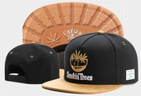Wholesale Trees Snapback - 2017 Latest Popular Cayler & Sons Smokin Trees Snapback Hip-Hop Caps gorras bones Men Women Fashion Baseball hats Flat The Visor
